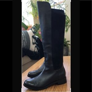 Cole Haan Nike Air Leather Riding Boots